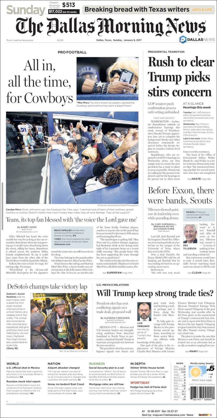 newspaper dallas morning news usa newspapers in usa sunday s