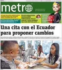 Portada de Metro Ecuador (Ecuador)