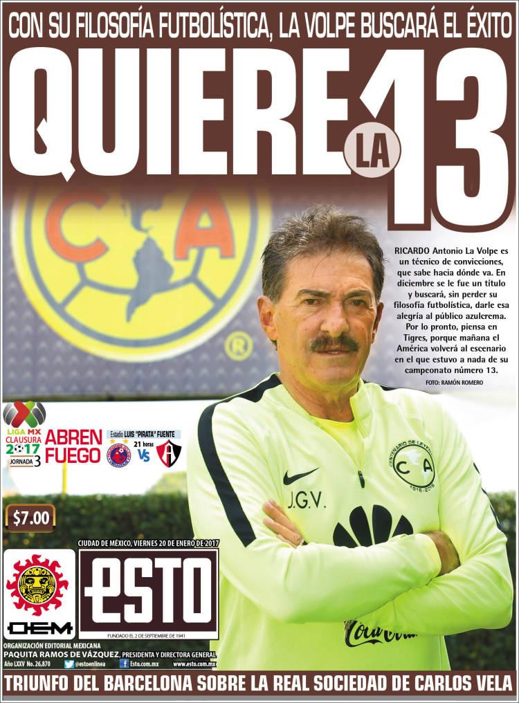 Portada de Esto (Mexico)