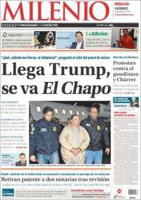 Portada de Milenio de Hidalgo (México)