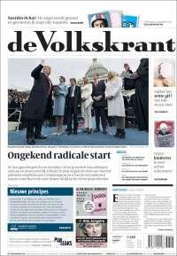 Portada de De Volkskrant (Netherlands)