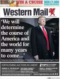 Portada de Western Mail (United Kingdom)