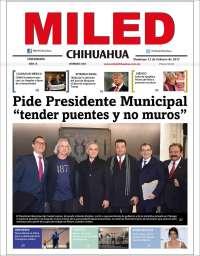 Portada de Miled - Chihuahua (México)