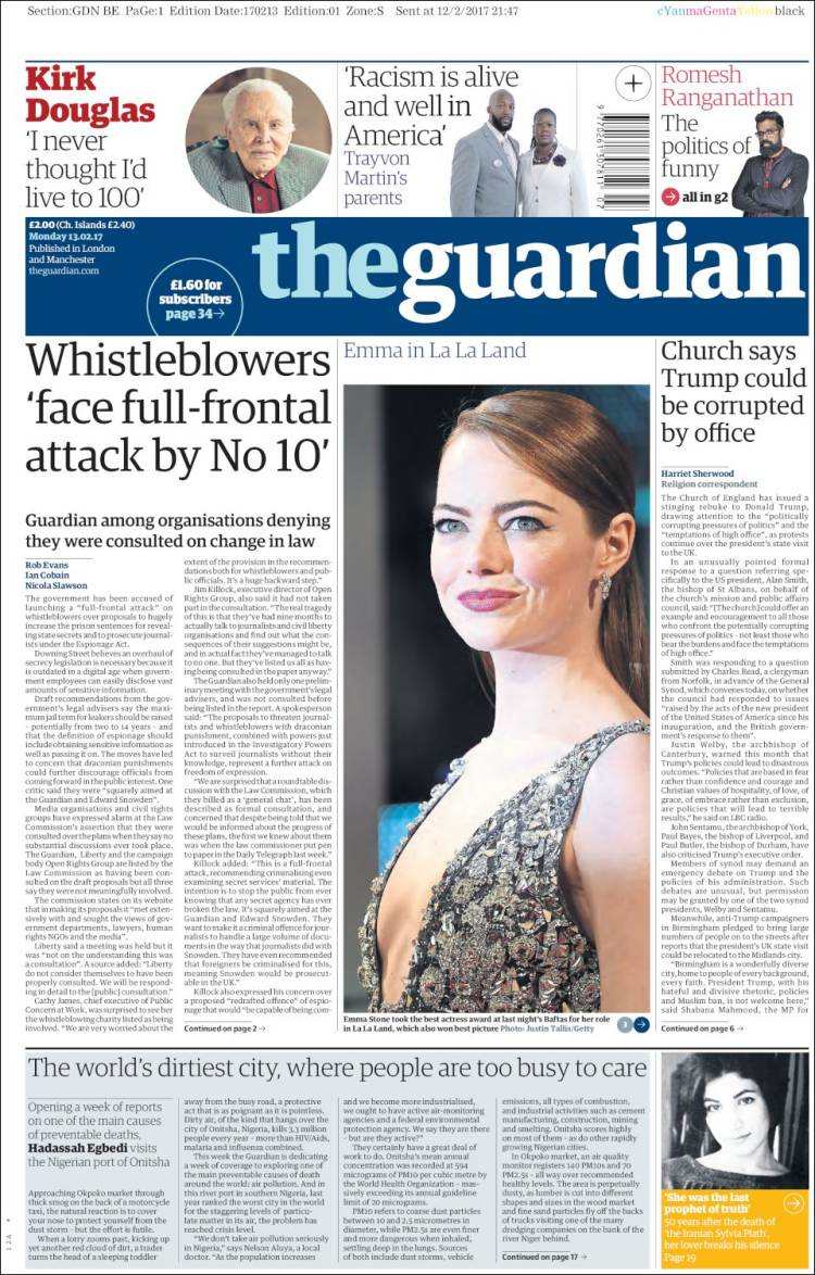 Newspaper The Guardian (United Kingdom). Newspapers in ...