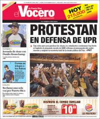Portada de Vocero (Puerto Rico)