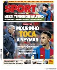Portada de Sport (Espagne)