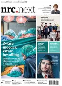 Portada de NRC • Next (Países Bajos)