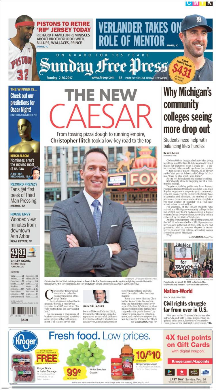 Detroit free press e edition login.