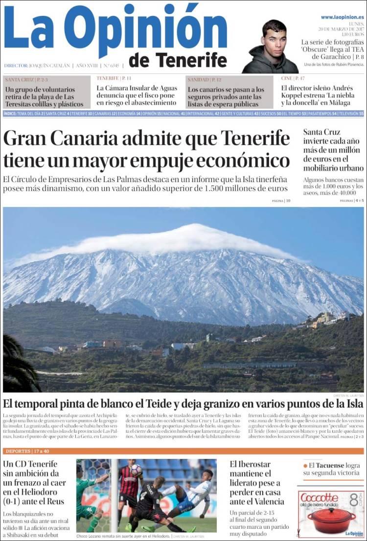 Cierra el periódico La Opinión de Tenerife