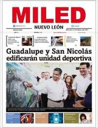 Portada de Miled - Nuevo León (Mexico)