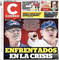 Portada de Diario Correo (Peru)