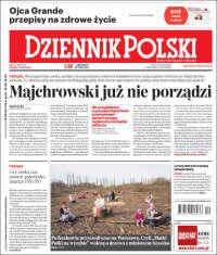 Portada de Dziennik (Pologne)