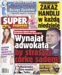 Portada de Super Express (Pologne)
