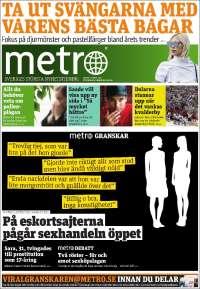 Portada de Metro (Suède)