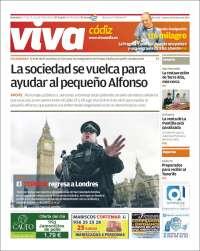 Portada de Viva Cadiz (España)