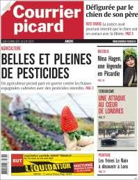 Portada de Courrier Picard (Francia)