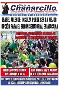 Portada de Diario Chañarcillo (Chili)