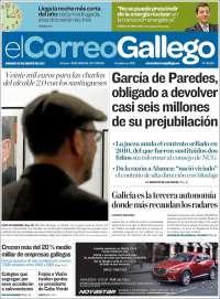 Portada de El Correo Gallego (Spain)