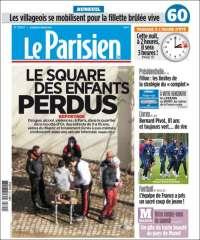 Portada de Le Parisien (Francia)