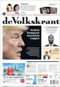 Portada de De Volkskrant (Países Bajos)