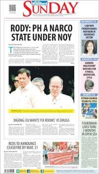 Portada de Manila Standard Today (Asia-Pacific)
