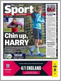 Portada de Daily Mail Sport (Royaume-Uni)