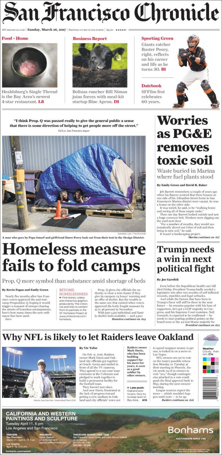 Blue apron niman ranch - Portada De San Francisco Chronicle Usa