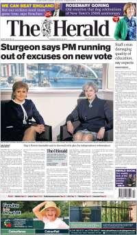 Portada de The Herald (United Kingdom)