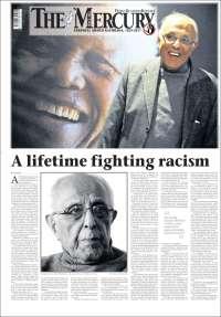 Portada de The Mercury (South Africa)