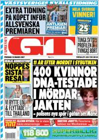 Aftonbladet daily 4 december