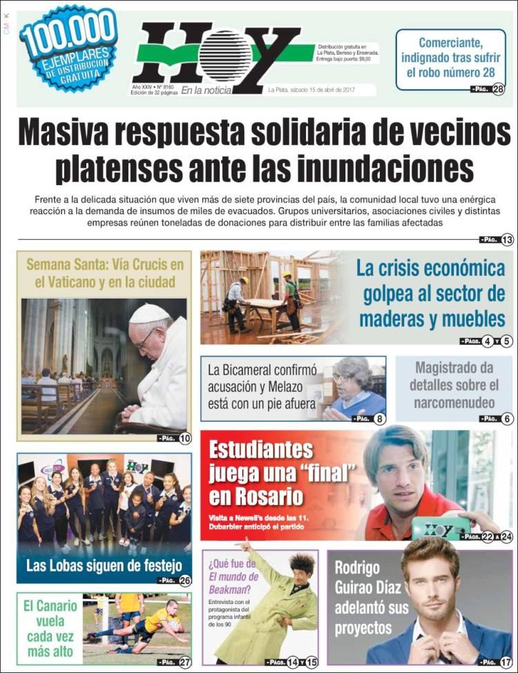 peri dico diario hoy argentina peri dicos de argentina