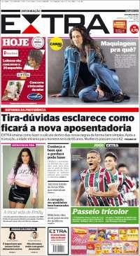 Portada de Extra (Brésil)