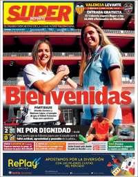 Portada de Superdeporte (Espagne)