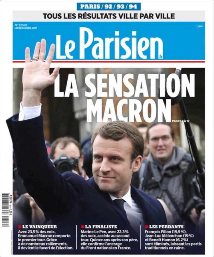 le parisien french presidential election 2017 macron le pen