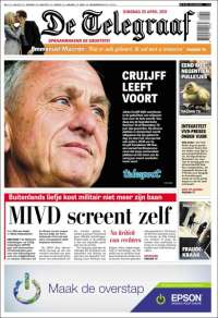 Portada de De Telegraaf (Netherlands)