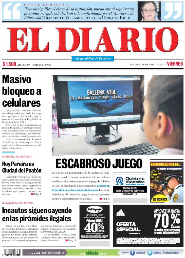 colombian newspapers online