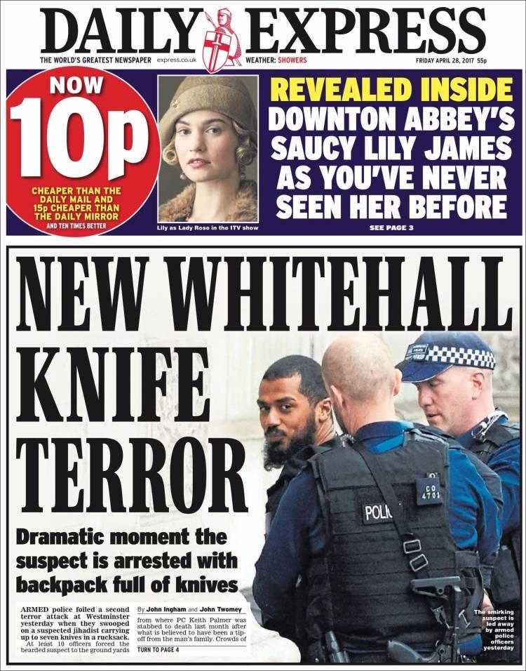 Portada de Daily Express (United Kingdom)