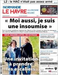 Portada de Le Havre Libre (Francia)