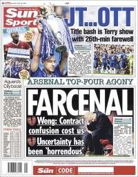 Portada de Sun Sport (Royaume-Uni)