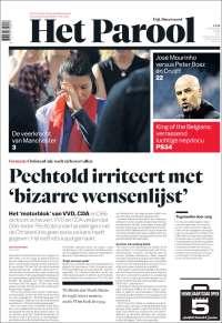 Portada de Het Parool (Pays-Bas)