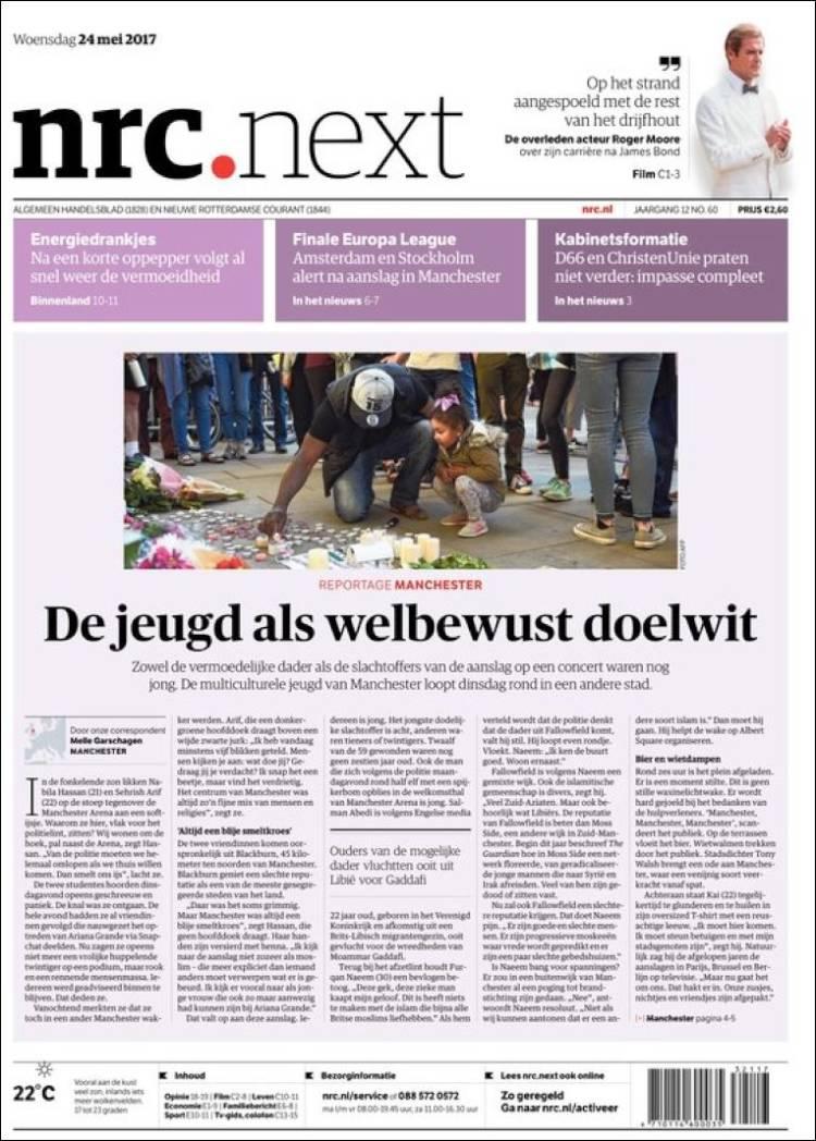 Portada de NRC • Next (Pays-Bas)