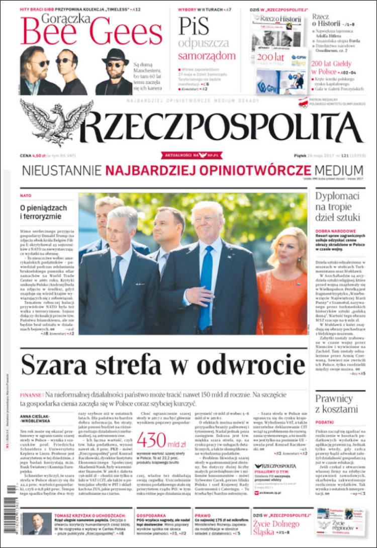 Portada de Rzeczpospolita (Pologne)