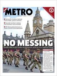 Portada de Metro (United Kingdom)