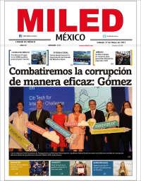 Portada de Miled (Mexique)
