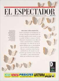 Portada de El Espectador (Colombie)