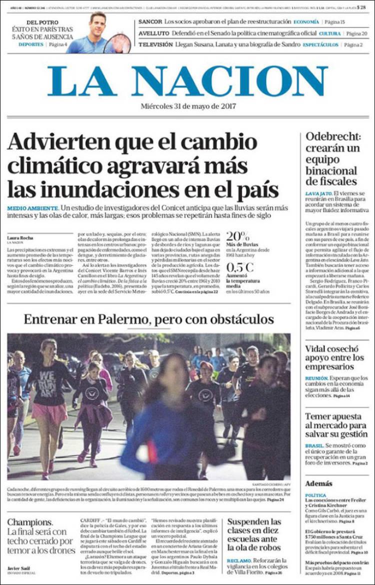 Peri dico la naci n argentina peri dicos de argentina for Chimentos de hoy en argentina