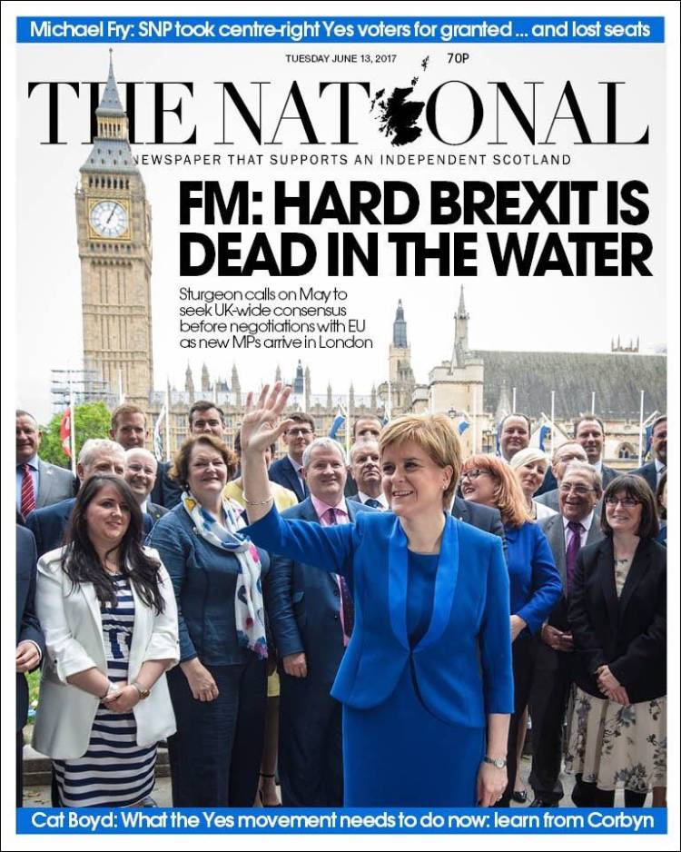 Portada de The National (Royaume-Uni)