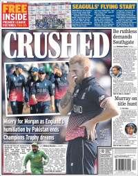 Portada de Express Sport (Reino Unido)