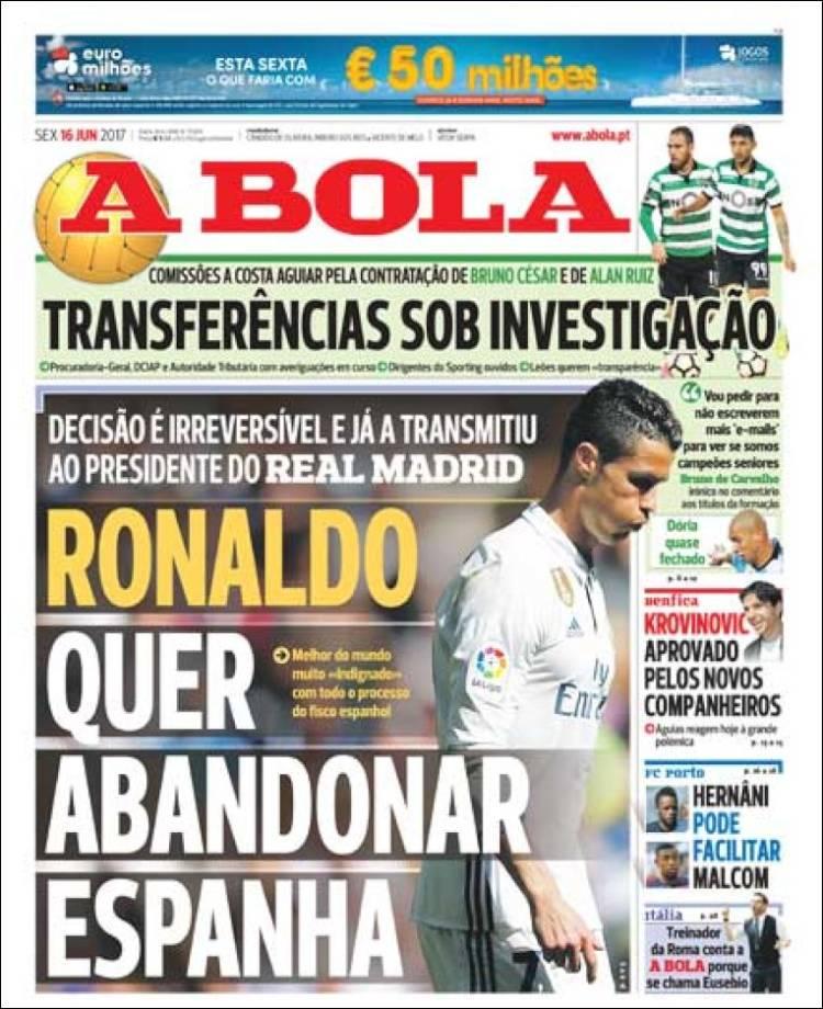 Cristiano Ronaldo quiere abandonar el Real Madrid