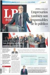 Portada de La Republica (Colombia)